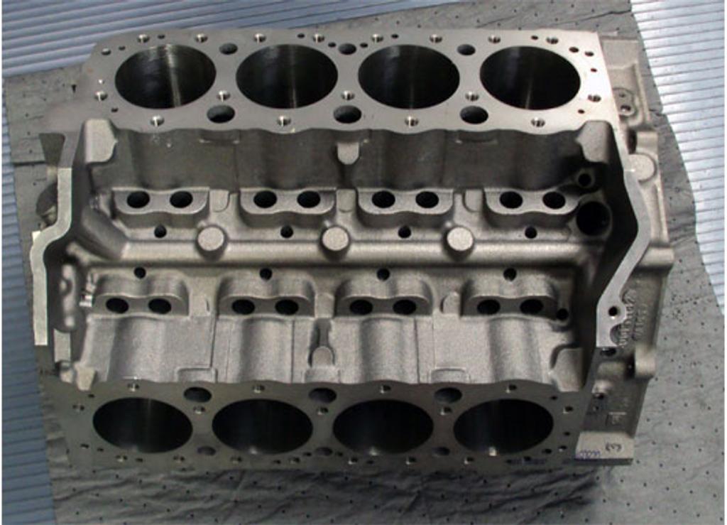 GM Bowtie 2 Bolt Cylinder Block