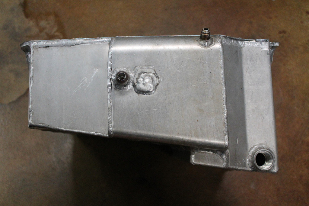 Used Alum External Wetsump Oil Pan