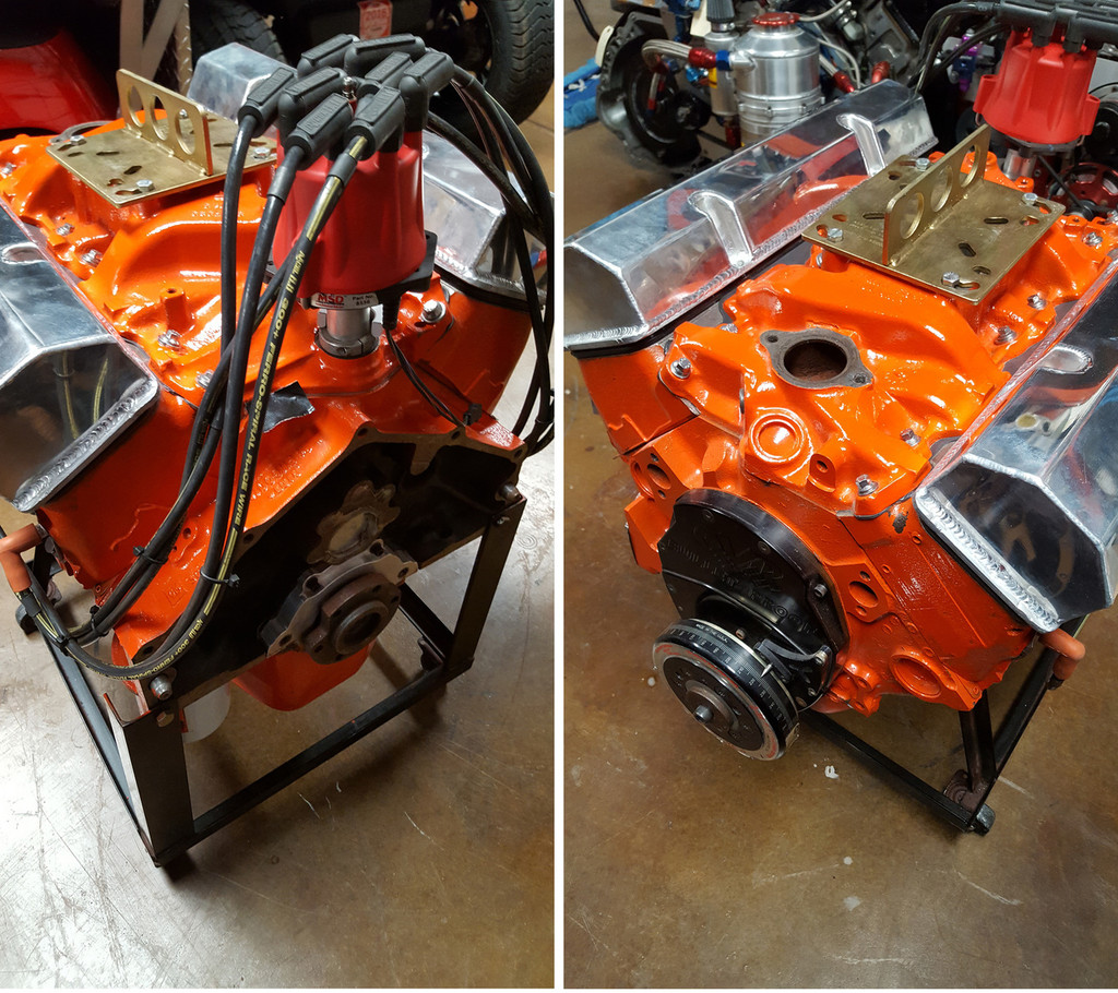 327/275 HP Stock Eliminator Engine