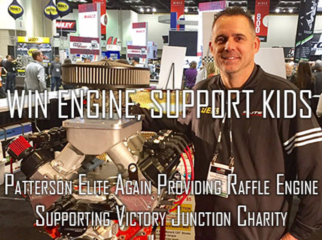 Patterson Elite to Provide Engine for 29th Annual Sunnen Engine Charity Sweepstakes