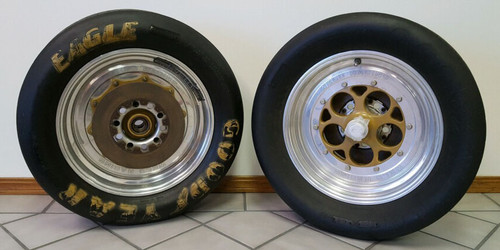 Weld Wheel and Goodyear Tire Set