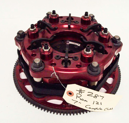 "Used Ram ""7"" COMPLETE 121T CLUTCH"