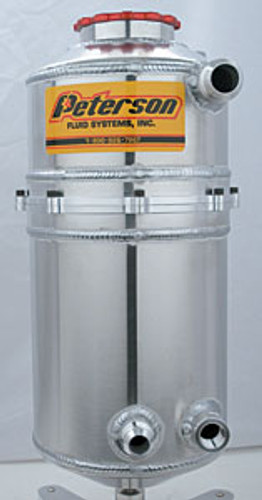 """Peterson 7"""" Dual Breather Drag Tank 08-0783"""