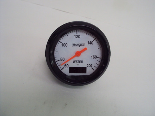 Racepak  Water Temp Gauge 60-200 - Used