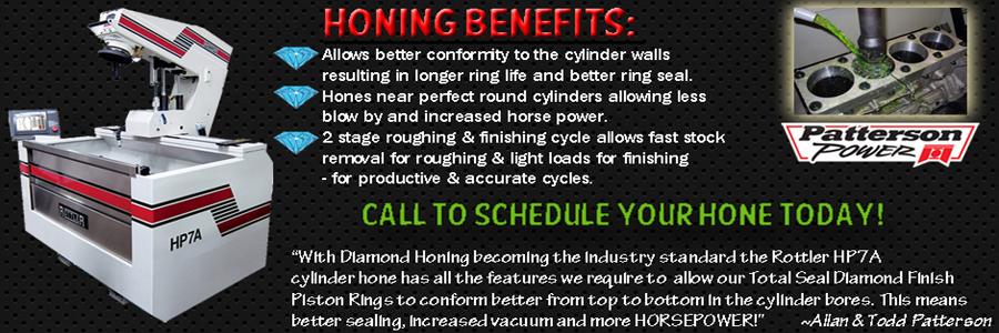 Diamond Honing
