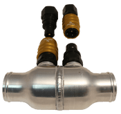 C&R Racing Check Valve with Fittings