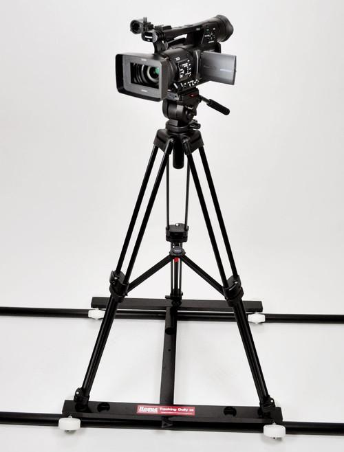 Hague D5T Camera Tripod Tracking Dolly Kit