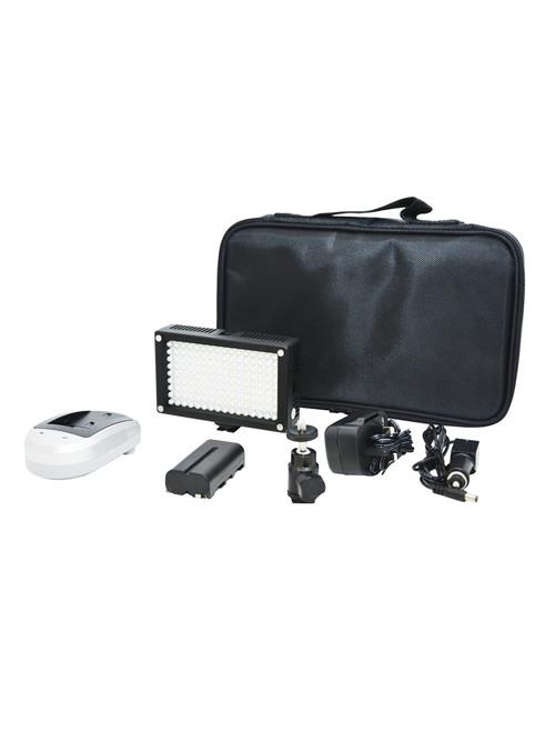 Lishuai LED144AS Bi-Colour On Camera LED Light