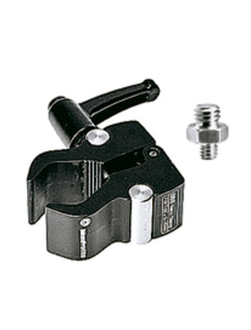 "Manfrotto M386BC Nano Clamp With 1/4"" To 3/8"" Screw"