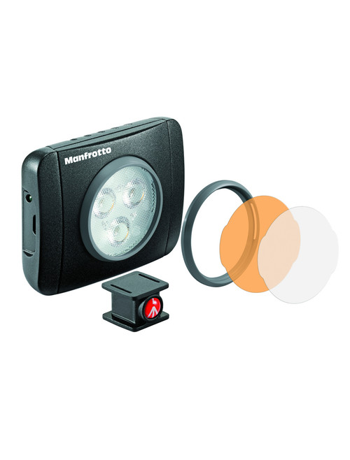 Manfrotto Lumie Series Play LED Light & Accessories - Black