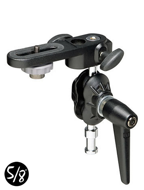CT155 Adjustable Double Ball Tilt Head With Camera Plate
