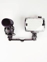 Hague DSA Sony Double Camera Shoe Adaptor