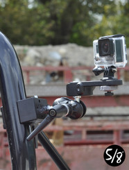 SC2 Superclamp With Double Ball Tilt Head For Cameras