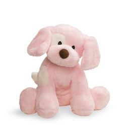 Spunky Barking Dog, Pink