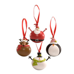 Rolly Polly Ornaments