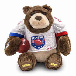 Gridiron Fanatic Bear
