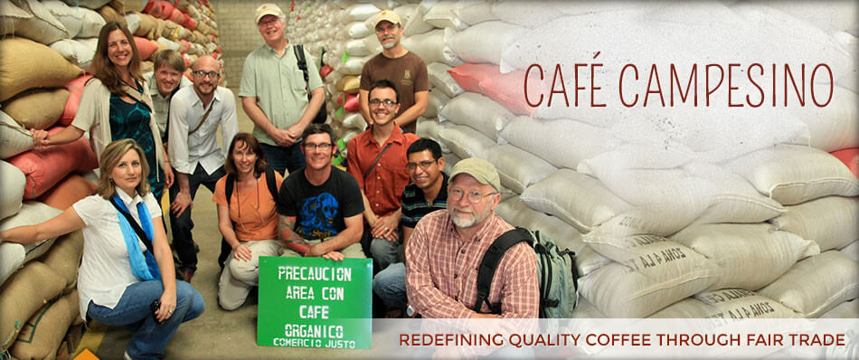 Cafe Campesino is a fair trade coffee grower