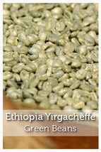 Ethiopia Yirgacheffe Fair Trade Organic Green Coffee Beans