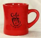 Red Cafe Campesino Diner Mug