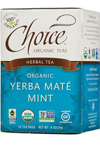 Choice Yerba Mate Mint Tea