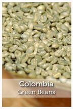 Colombia Fair Trade Organic Green Coffee Beans