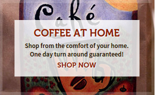 Shop for all your coffee and supplies at home