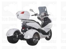 IceBear PST50-17 50cc Trike Gas Street Legal Scooter