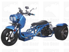 IceBear PST50-19N 50cc Trike Gas Street Legal Scooter