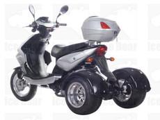 IceBear MOJO (PST50-8) 50cc Trike Gas Street Legal Scooter