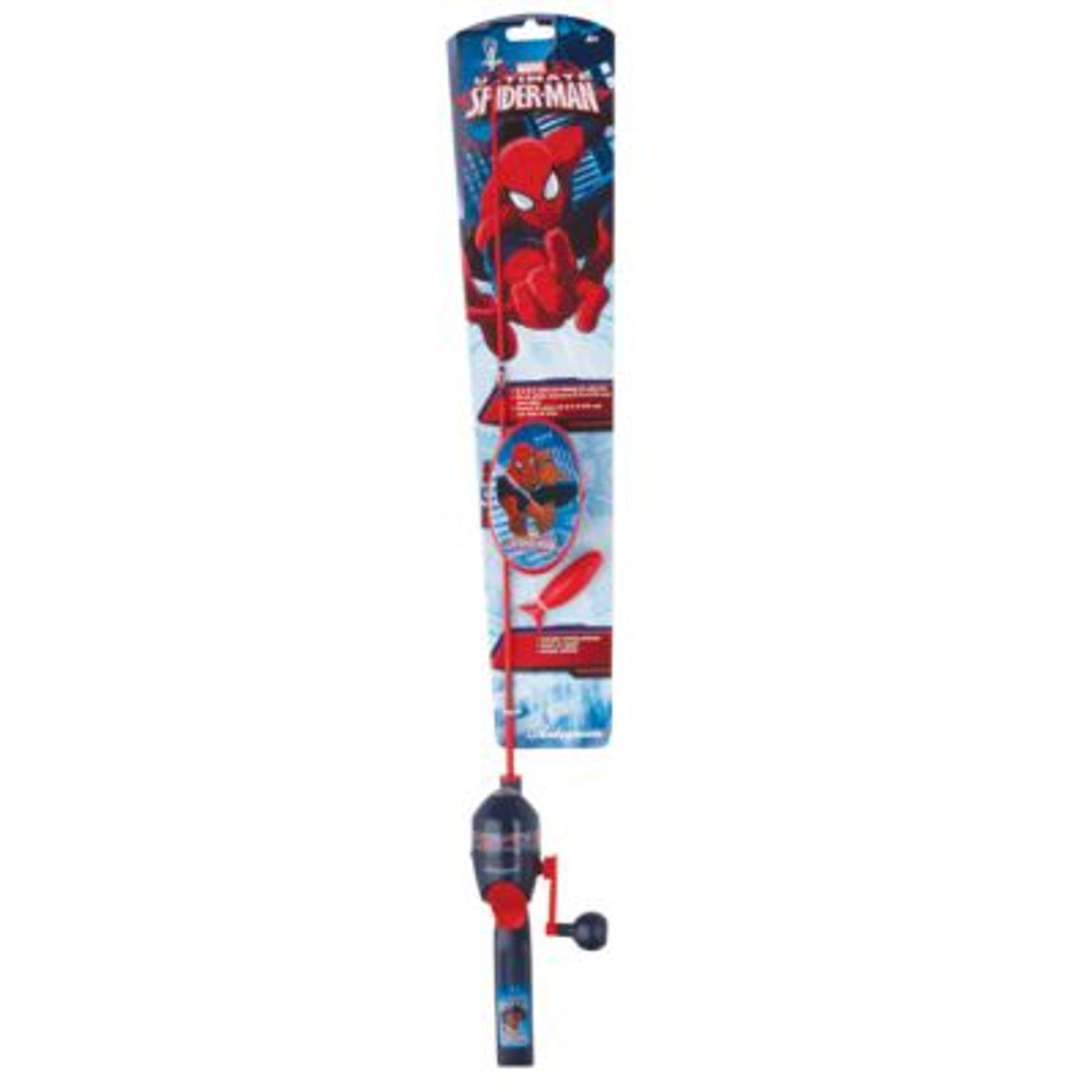 Shakespeare Marvel Spiderman Tackle Box Spin Kit