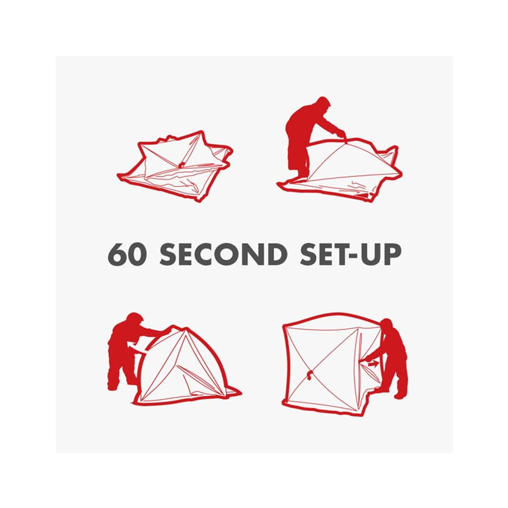 Eskimo QuickFish 6 - Pop-up Ice Hut Instructions
