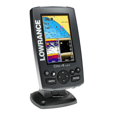 Lowrance Elite-4 HDI Fishfinder & Chartplotter