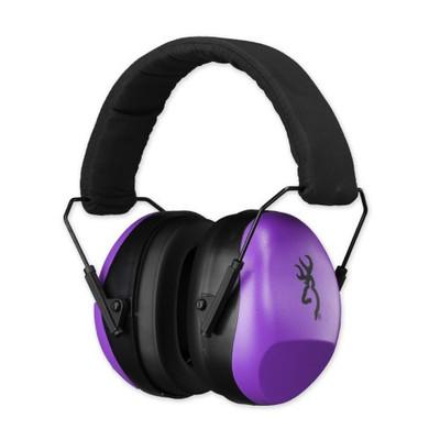 Browning Buckmark II Hearing Protector For Her, Purple