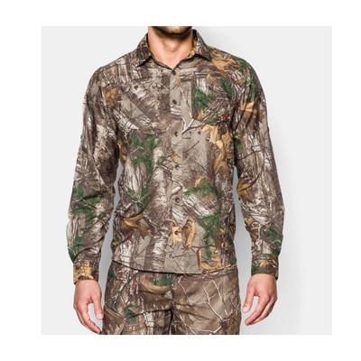 UA Chesapeake Camo Shirt, LS, RXT