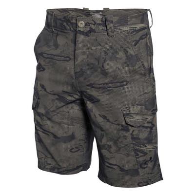 UA Fish Hunter Cargo Shorts In Black