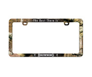 Browning License Plate Cover, MOBU
