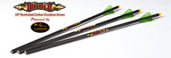 "Excalibur 18"" Diablo Carbon Crossbow Arrows, 6 pk"