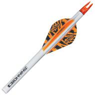 Bohning Archery Blazer QuikFletch, Orange Tiger, 6 pk
