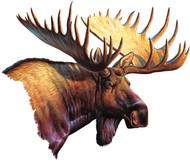 Rivers Edge Magnetic Art, Moose