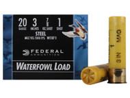 "Federal Speed-Shok Waterfowl, 20 Ga, 3"""