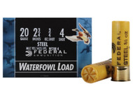 "Federal Speed-Shok Waterfowl, 20 Ga, 2.75"""