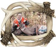 Rivers Edge Deer Antler Picture Frame