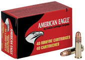 American Eagle 22 LR, 38 Gr C-P HP, 40 Count