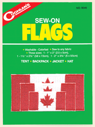 Coghlans Sew-On Canadian Flags