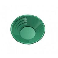 "Garrett 10"" Green Gold Pan, Dual Riffles"