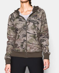 UA Womens Full-Zip Camo Hoody. Ridge Reaper