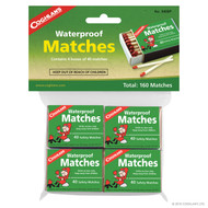 Coghlans Water Proof Matches, 160 pk