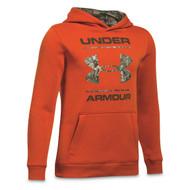 UA Boy Camo Fill Logo Hoodie
