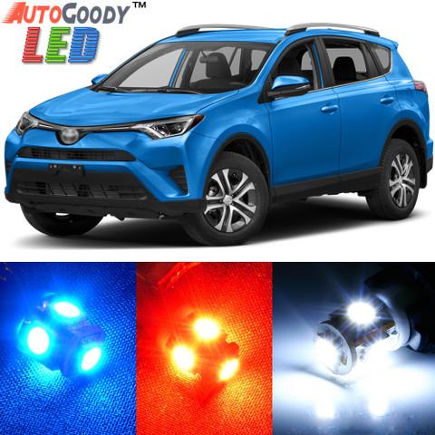 Premium Interior LED Lights Package Upgrade For Toyota RAV4 (2006 2017)