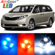Premium Interior LED Lights Package Upgrade for Toyota Sienna (2011-2017)